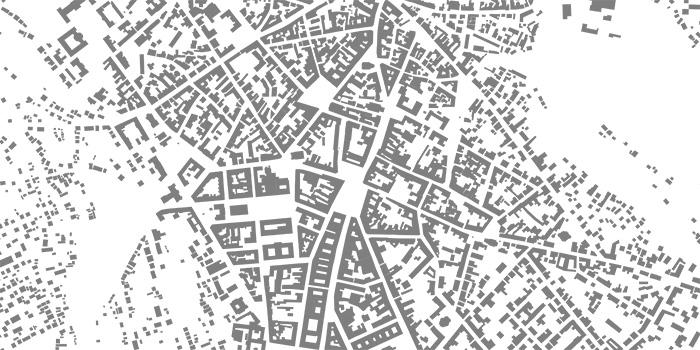 Der Stadtgrundriss von Czernowitz