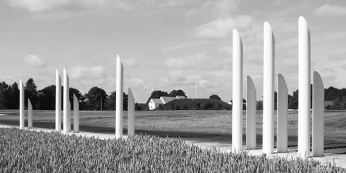Abbildung: VHS Vortrag  des ArchitekturForumLübeck e.V. zu: The Monument Site of Jelling/DK Welterbestätte Jelling/DK Foto: (C) Kristine Jensens Tegnestue