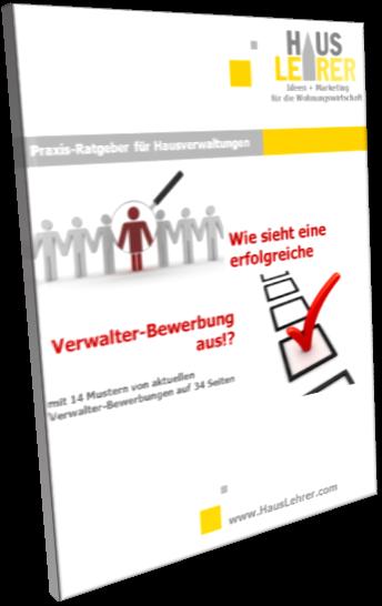 Praxis Ratgeber Verwalter Bewerbung Hausverwaltung Produkte