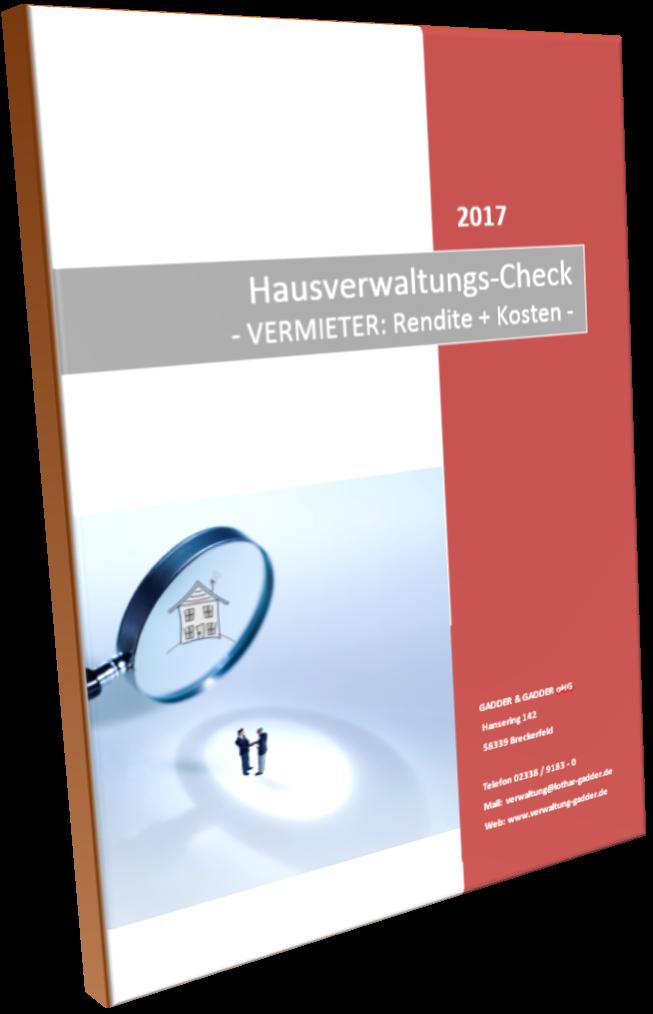 Hausverwaltungs Check Vermieter Als Mittel Zur Akquise Produkte