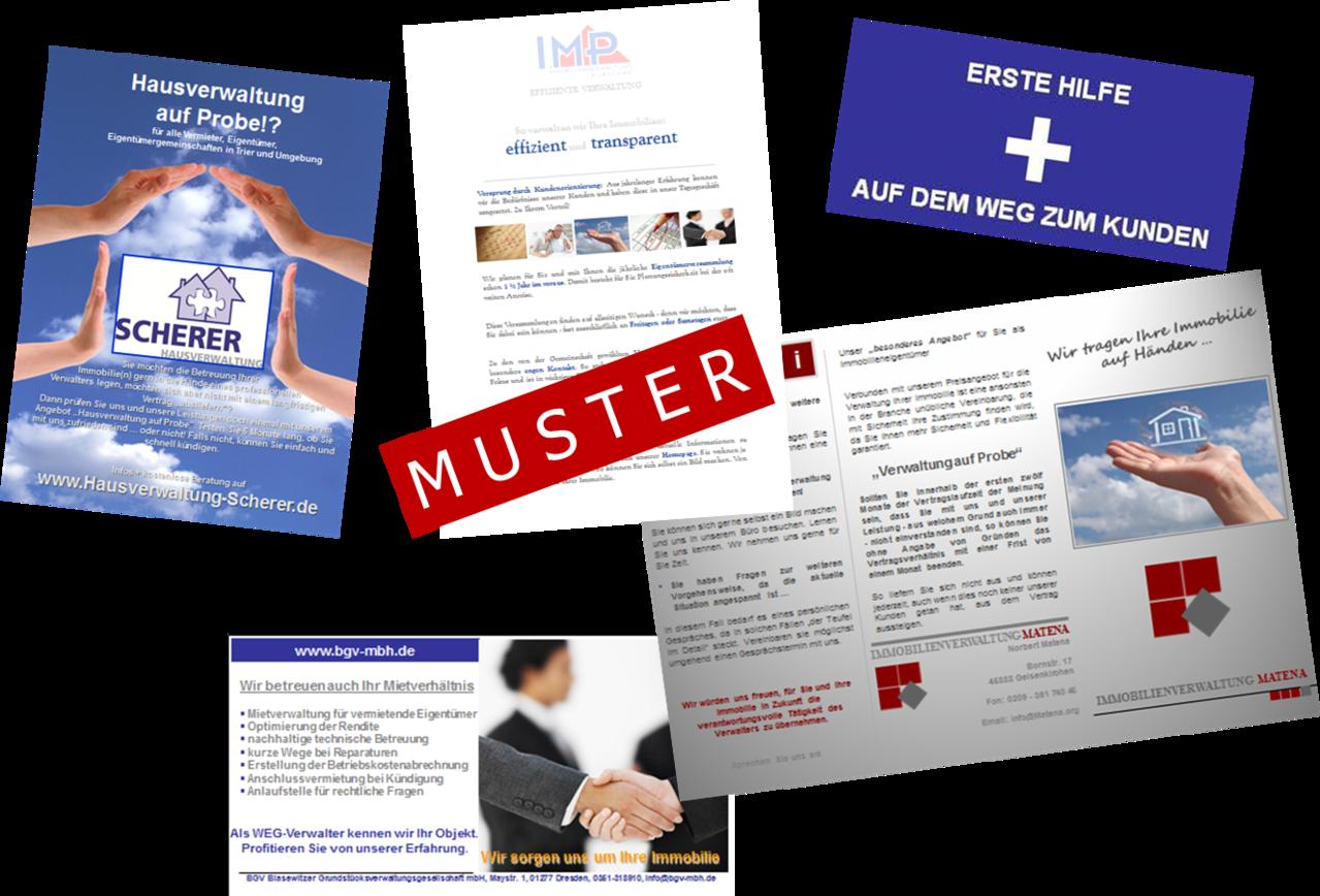 Unternehmensflyer - Produkte, Vorlagen, Muster + Co. für ...
