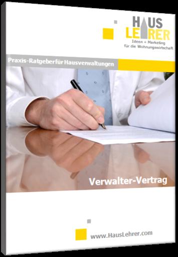 Praxis Ratgeber Verwalter Vertrag Hausverwaltung Produkte