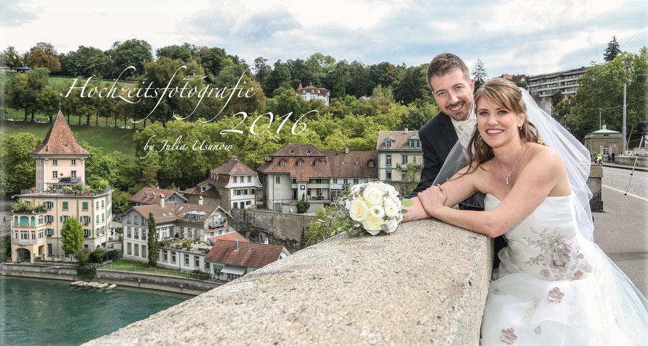 Hochzeit in der Berner Nydeggkirche, Altstadt Bern 2016