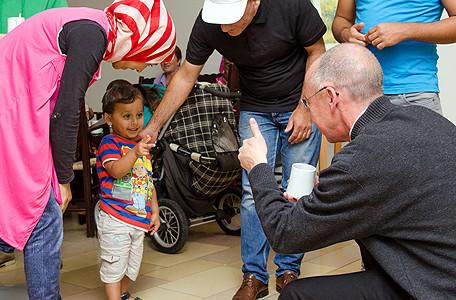"""""""Welcome!""""-Woche 2015 für geflüchtete Menschen in der Katholischen Akademie Stapelfeld. Foto: Johannes Hörnemann"""