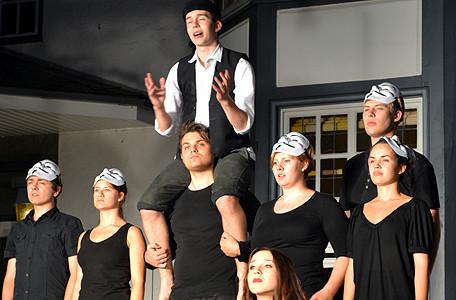 Deutsch-polnisch-ukrainisches Theaterprojekt in der Bildungsstätte Bredbeck