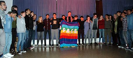 Aus dem Theaterstück von und mit 29 Jugendlichen in Goslar.