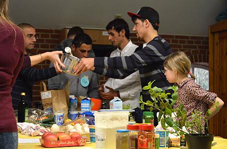 Interkultureller Kochnachmittag in der HÖB Papenburg