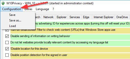 w10 privacy windows update