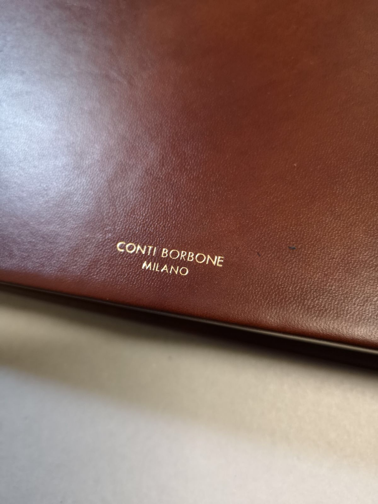 Album su misura di lusso Conti Borbone Milano