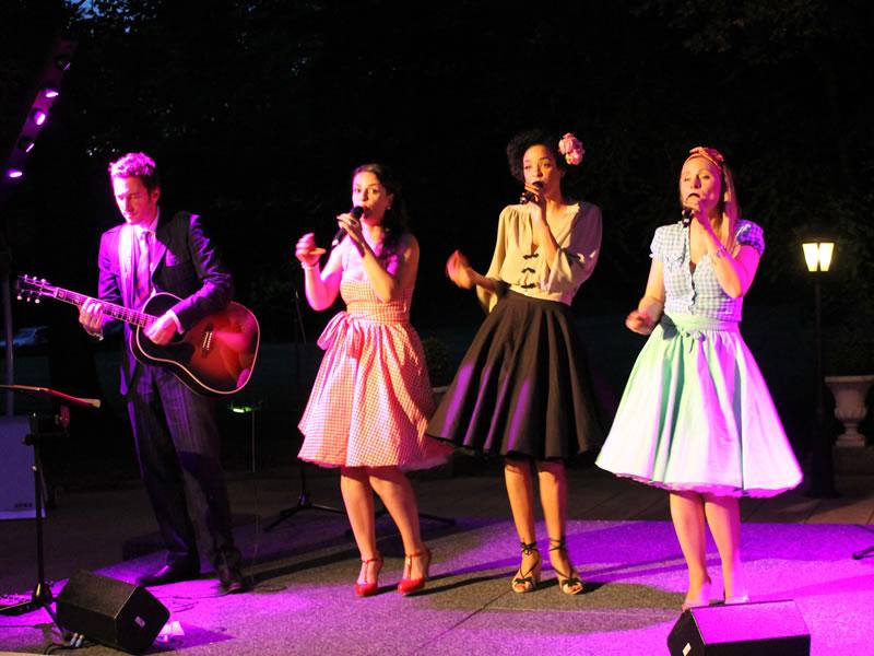 Ein traumhafter Swing Band Abend in der Villa Rothschild Kempinski