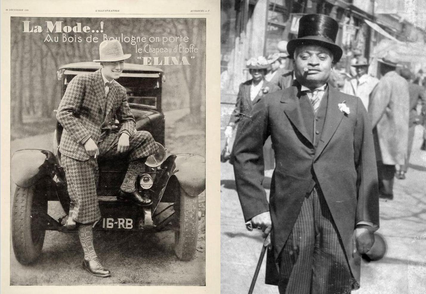 Hipster der Roaring Twenties: der Dandy Look Frauenband