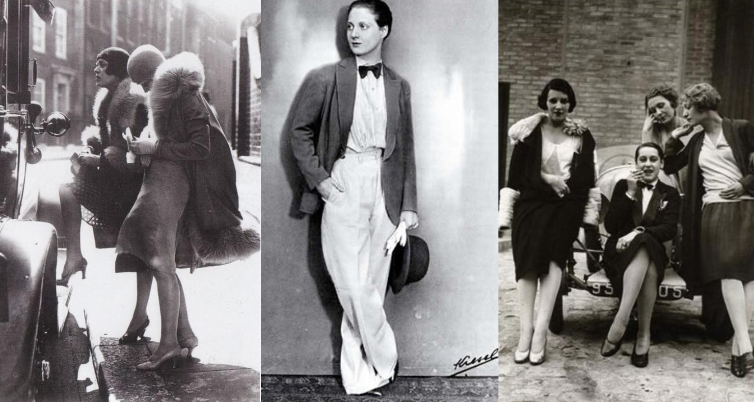 Damen Mode Der 20er Jahre Frauenband Swing Trio