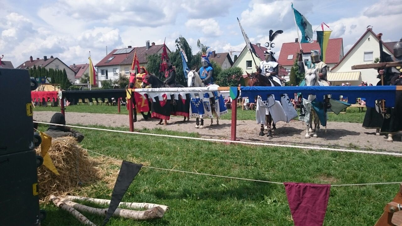 Beim Turnier der Armati Equites