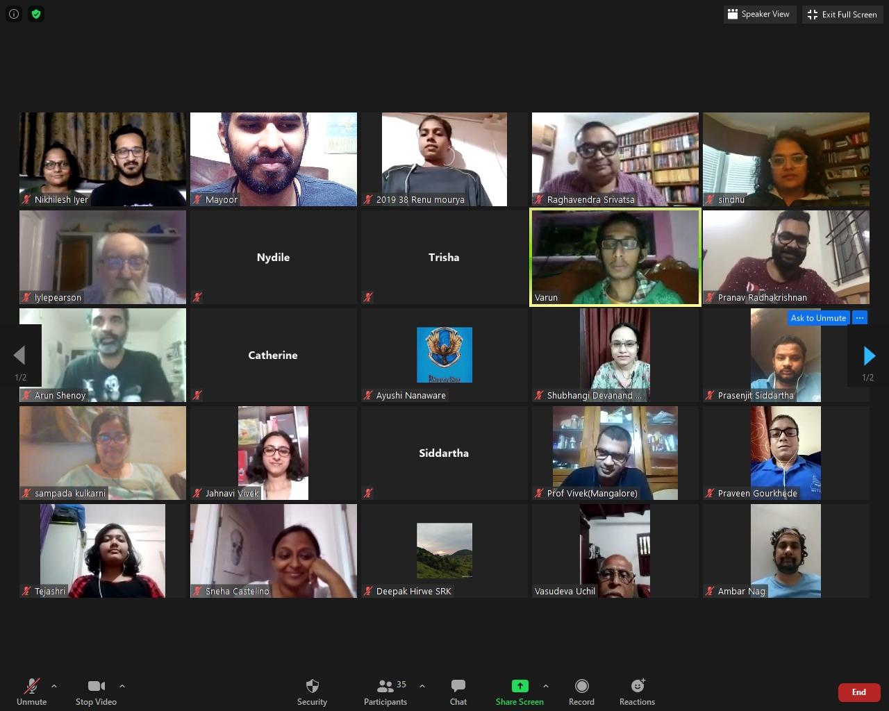 Online Zoom Classroom