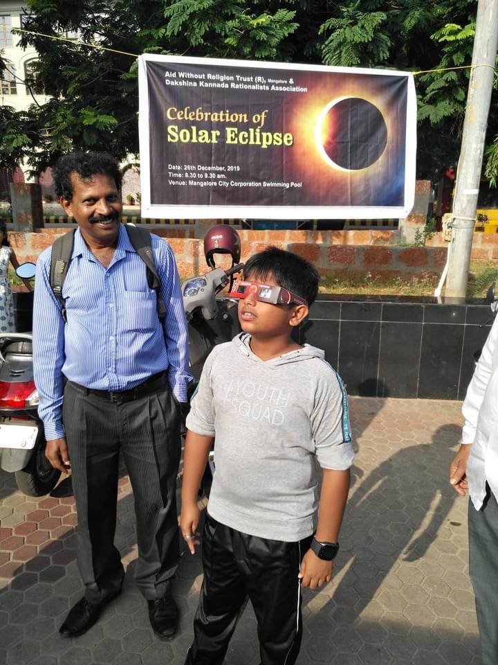 Dr. Krishnappa Konchady and students
