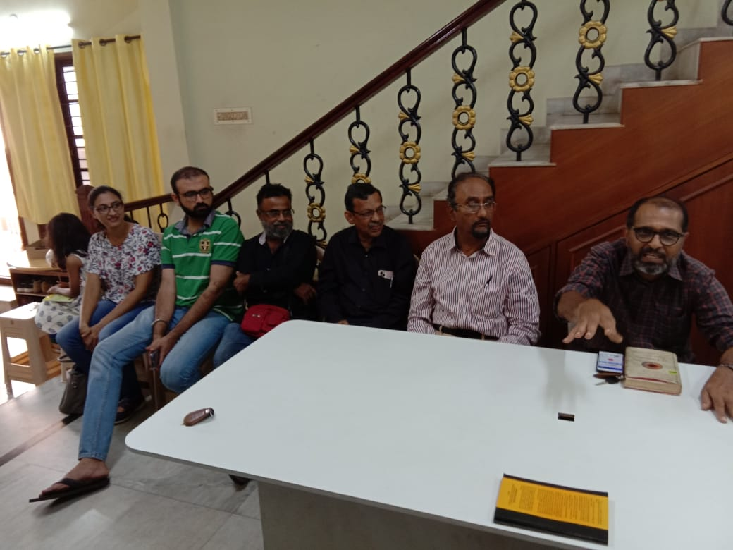 Scientific Temper group meeting