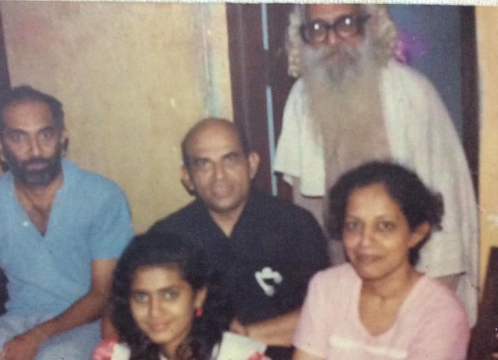 Prof Nayak and (late) B Premanand