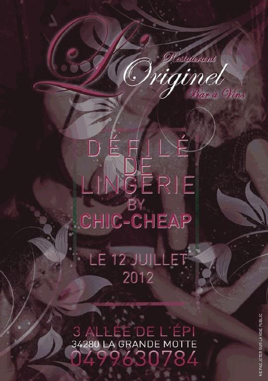 Défilé de Mode à L'Originel la Grande Motte par Chic & Cheap Concept Store Montpellier
