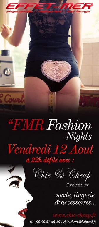Défilé de Mode @ Effet-Mer plage privé Chic & Cheap Concept Store Montpellier