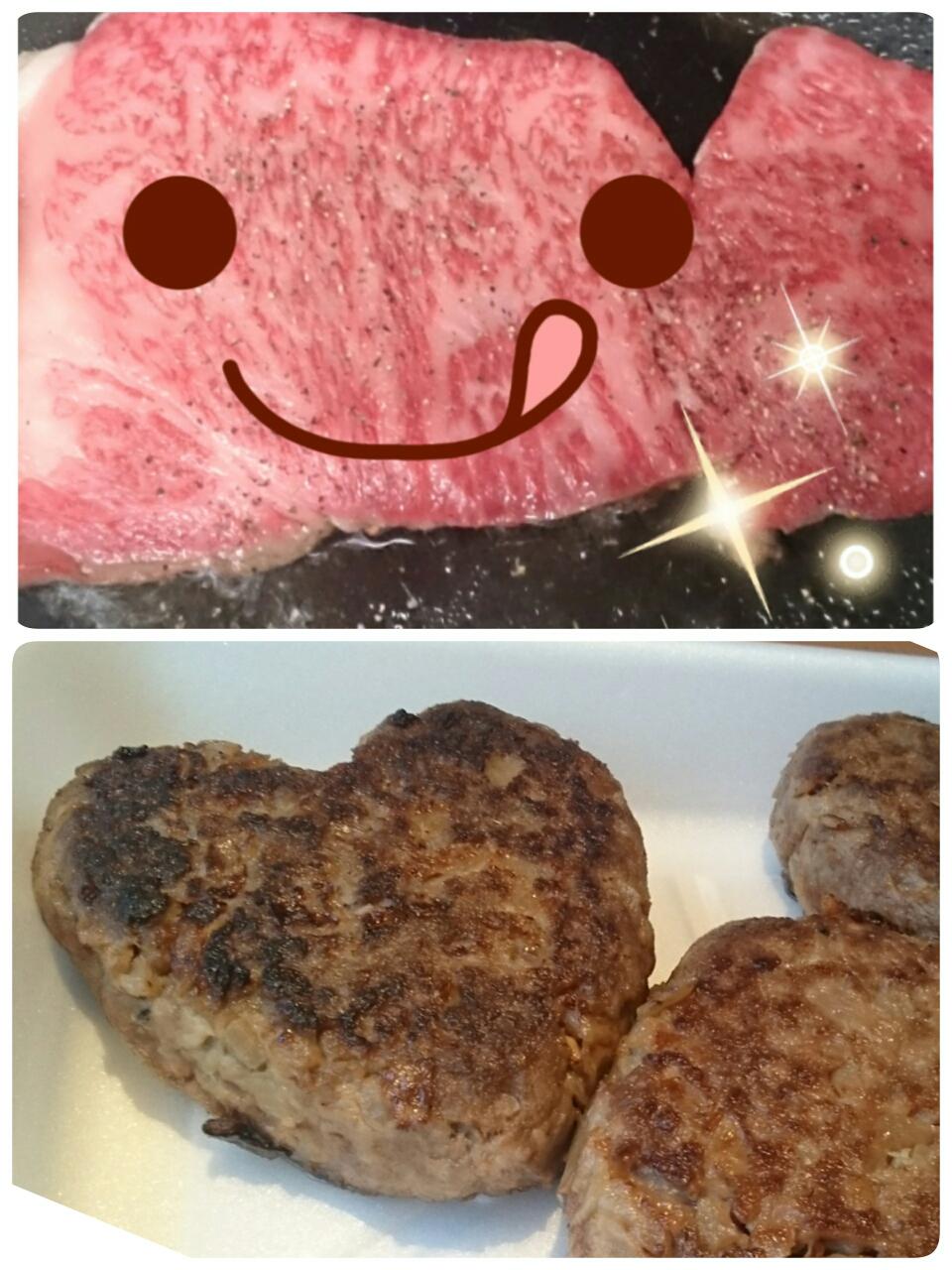 ステーキもハンバーグも美味しいです😋🍴