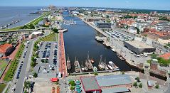 Überseehafen Bremerhaven Kuchanny Projekt Verkehrsgastronomie