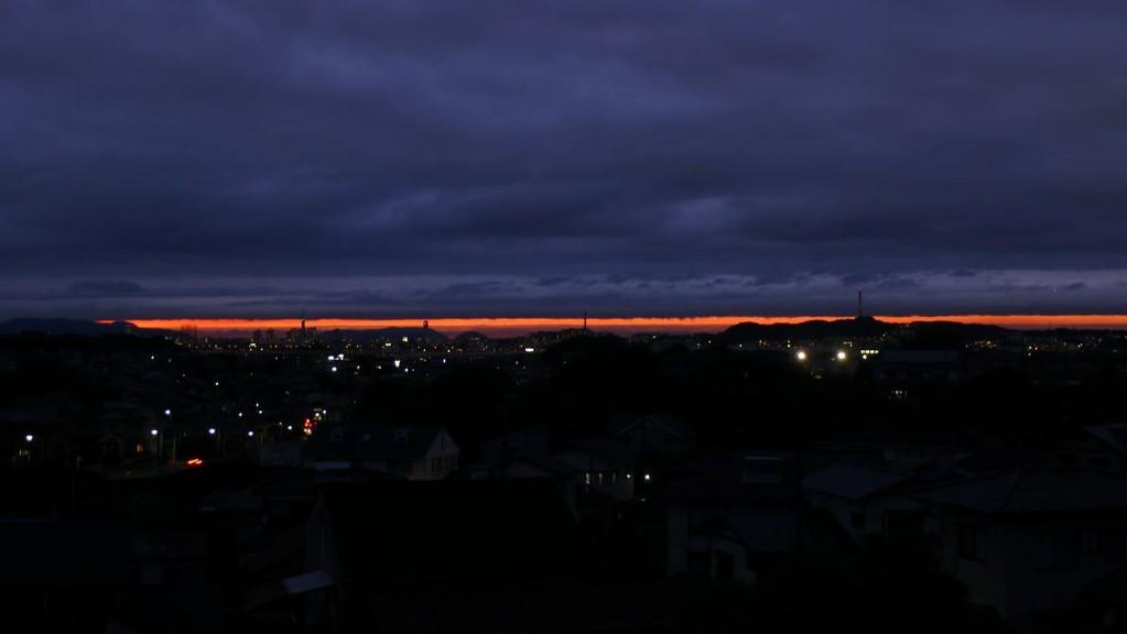 梅雨の晴れ間(福岡)