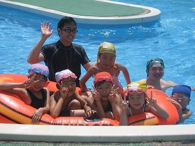 夏合宿プール