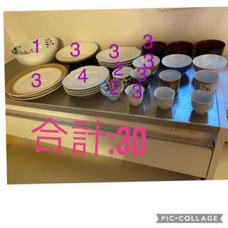餐具的数量