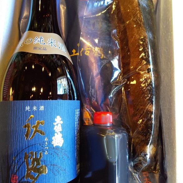 戻り鰹タタキ高知地酒セット販売開始しました~。