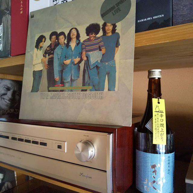 今週の1枚のレコードとお勧め土佐酒です。