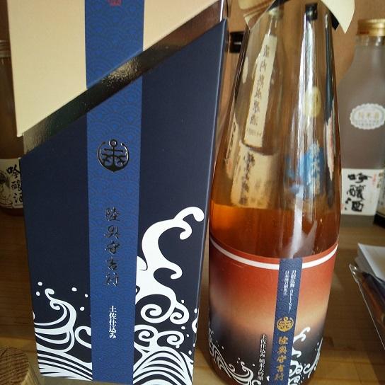 刀をモチーフにした日本酒(高知産)