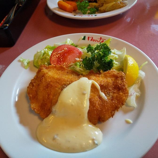 昨日はモンテさんで昼食を取りました・・。