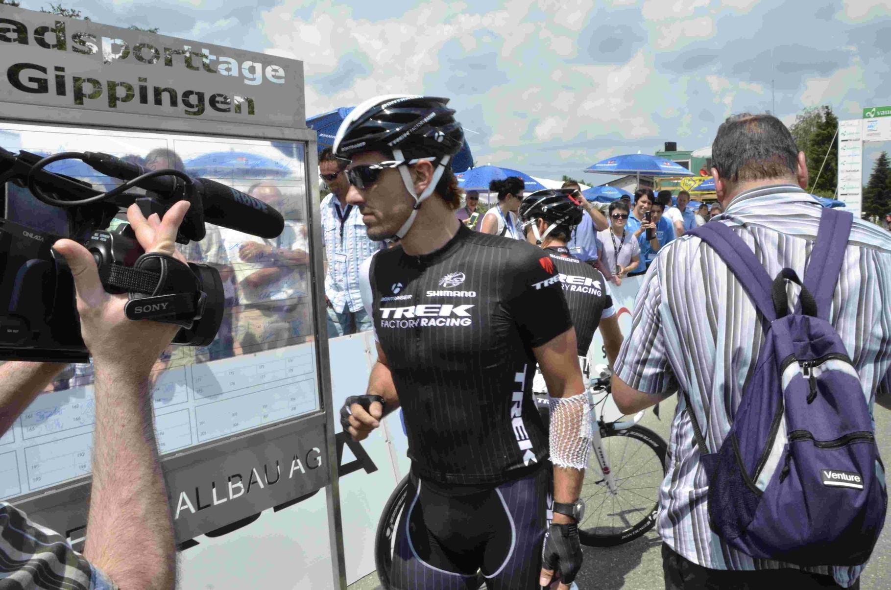 Den Griffel zurück Cancellara