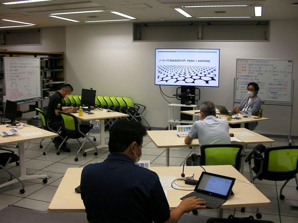 「ノーコードで始めるIoT入門 MESH×kintone」勉強会を開催しました