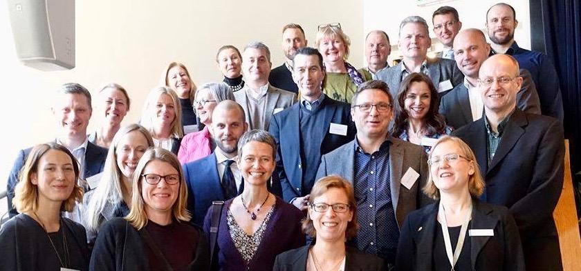 Gender Coach Programmet 2015, med Försvarsmakten, ÖB, samt chefer från Flygvapnet, Flottan, Materielverket, Försvarshögskolan, Folke Bernadotte Akademin, SwedInt, och Polismyndigheten, Region Stockholm & Nationella Operativa Avdelningen.