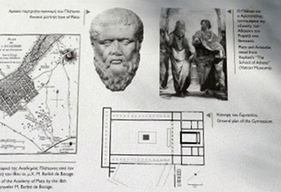 Platons Akademie, Athen; Grundriss