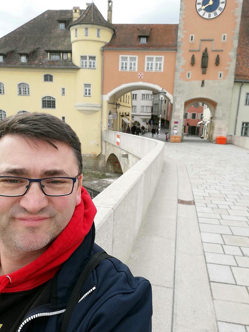 Das Tor zur Innenstadt in Regensburg