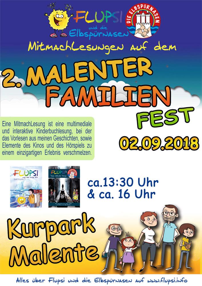 2. Malenter Familienfest mit Flupsi