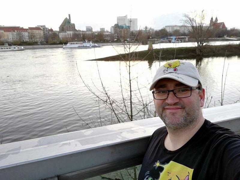Elbspürnasen an der Elbe in Magdeburg