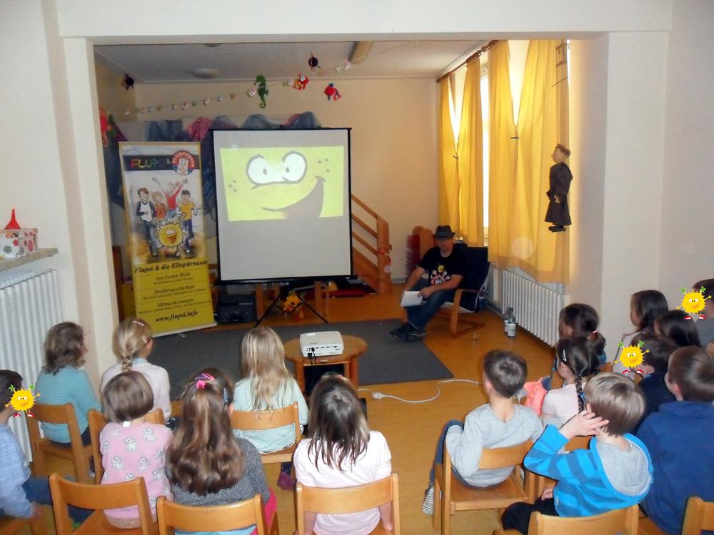 Lesung für die Vorschulkinder in Reinfeld