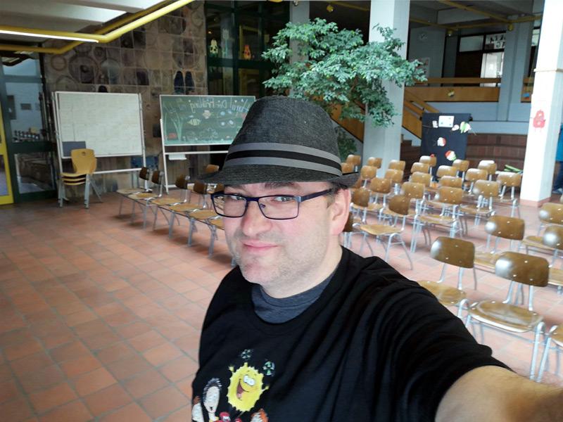 Die Aula im SFZ Regensburg