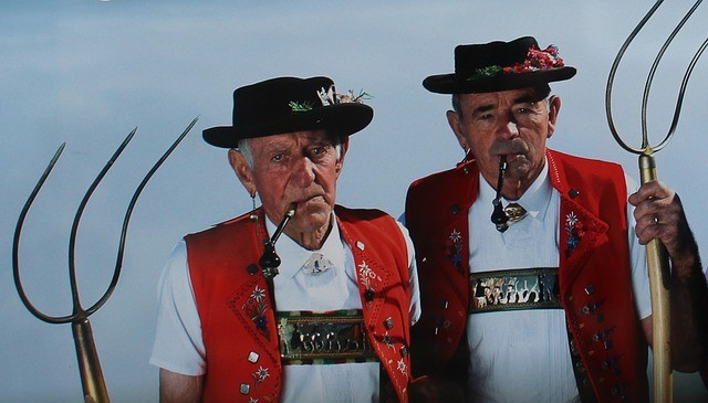Swiss Traditional Farmers