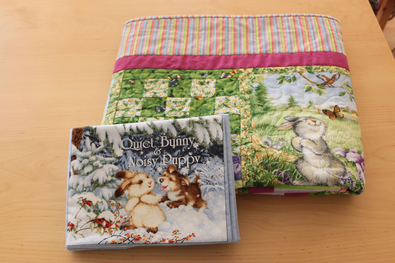 Bunnies Day Out Quilt Book Set Silke Touch Quilting