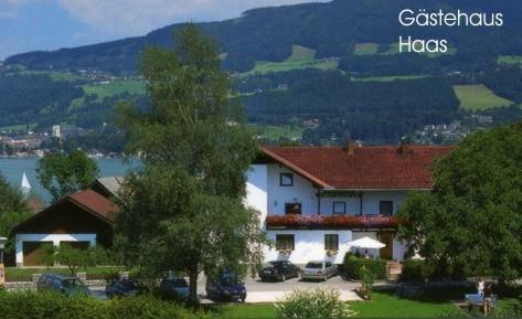 Vorderansicht Gästehaus Haas