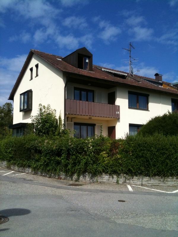 alte Ansicht Haus