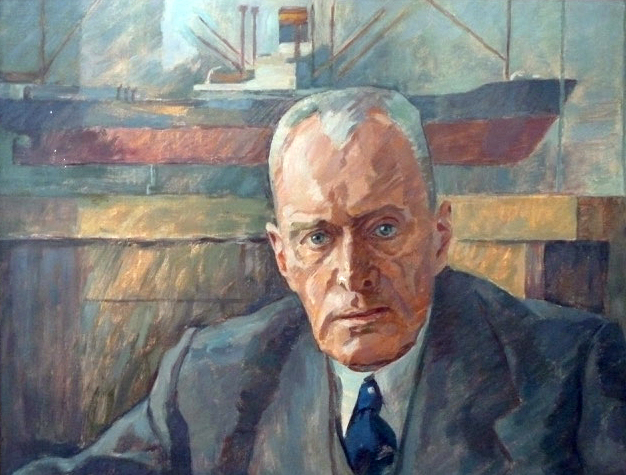 Heinrich Rode / Öl auf Leinwand 1955