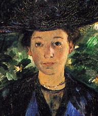 Else Kaumann, geb. Sauber, * 1871; † 1934, Lovis Corinth 1911.
