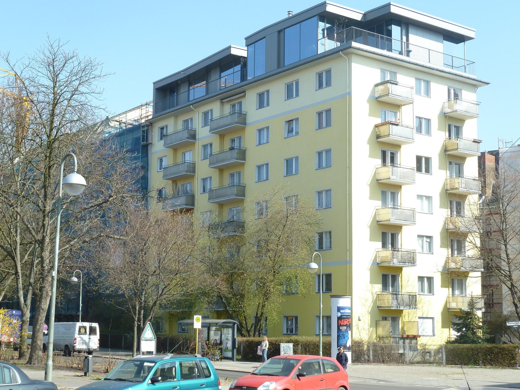 Wohnungen in Kreuzberg nahe Urbanhafen