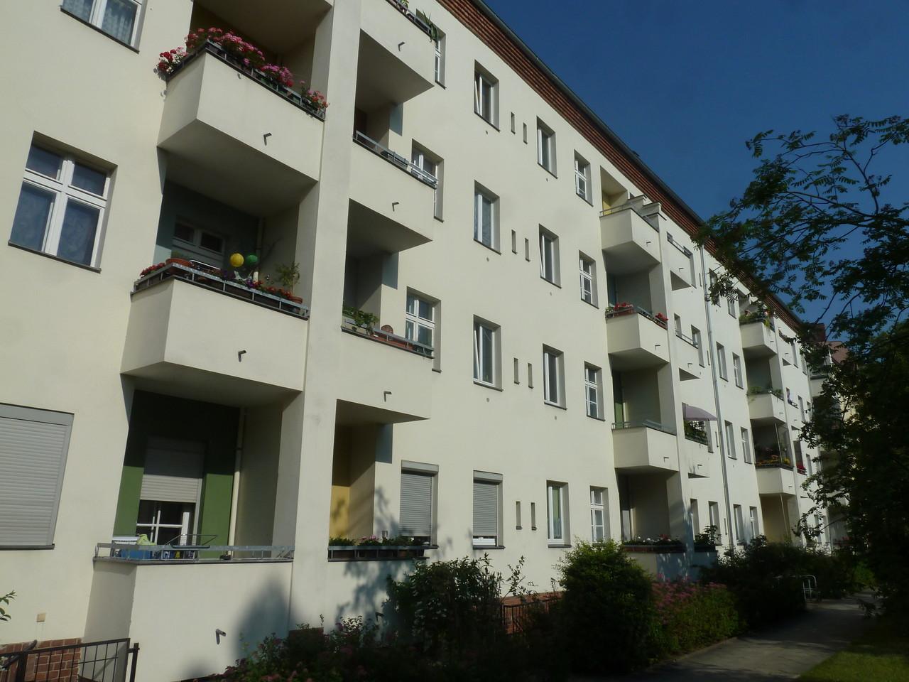 Gepflegte Wohnanlage in Berlin- Oberschöneweide