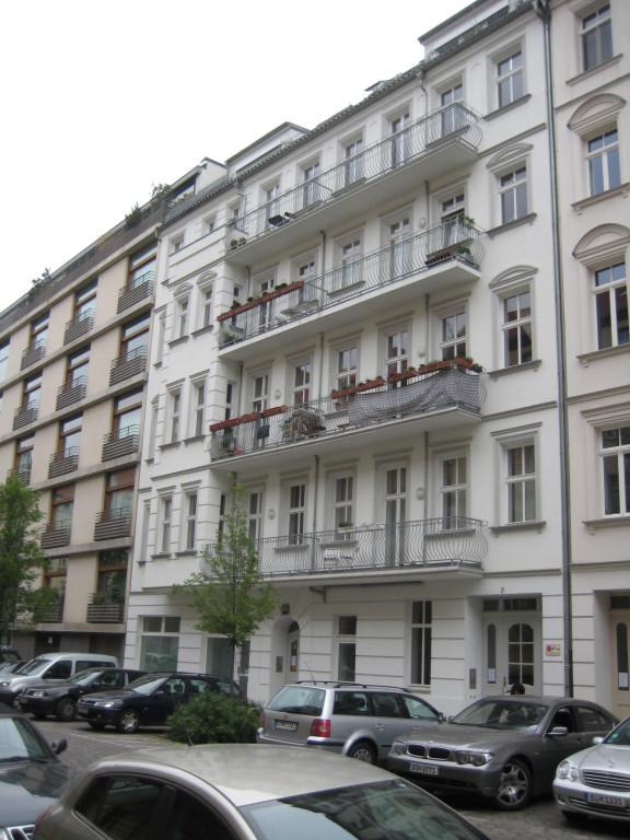 Wohnung im begehrten Scheunenviertel